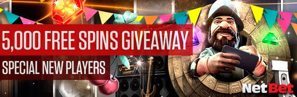 Spins 5000 Free - settimanale della lotteria