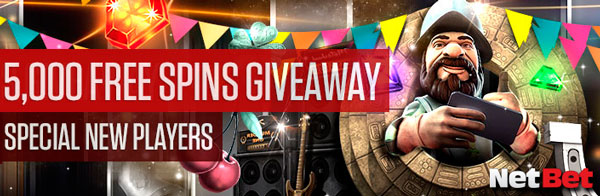 5000 Free Spins - Weekly Raffle