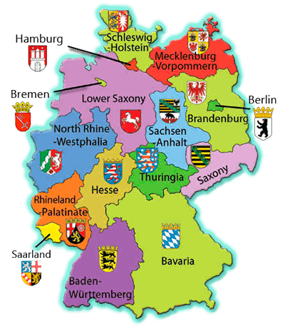 Germany Map Adventure