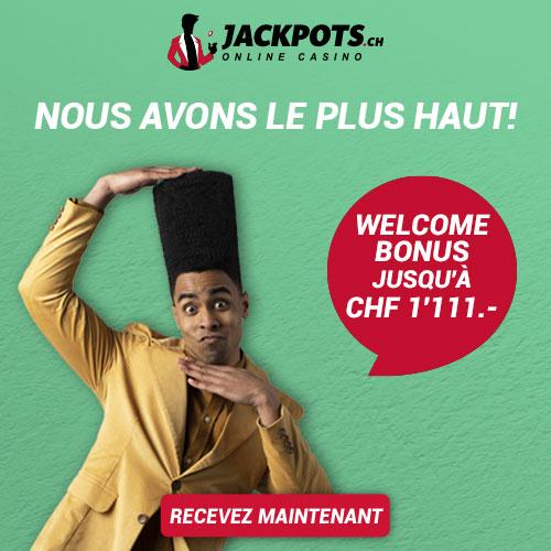 Obtenez plus d'informations sur JackPots.ch