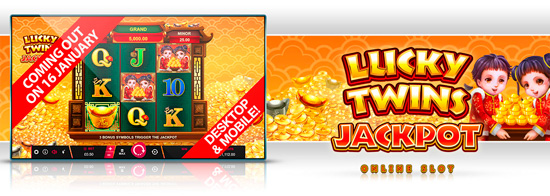 New game: Lucky Twins Jackpot