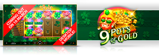 Nytt spel: 9 Pots of Gold™