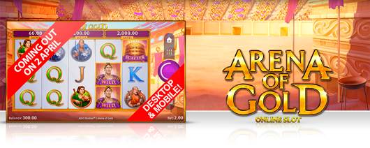 New game: Arena of Gold