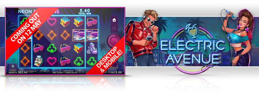 Nytt spel: Electric Avenue