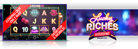 Nytt spel: Lucky Riches Hyperspins ™
