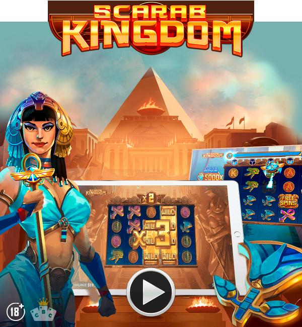 Neues Spiel: Skarabäus Königreich