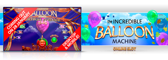 New game: Incredible Balloon Machine