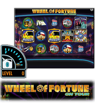 Wheel of Fortune on Tour oferecido pela IGT
