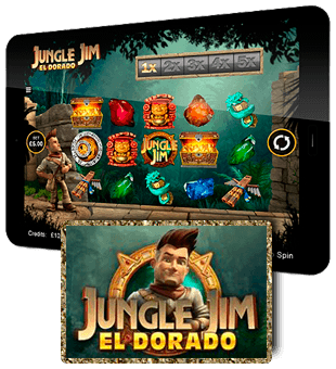 Jungle Jim: El Dorado oferit de Microgaming