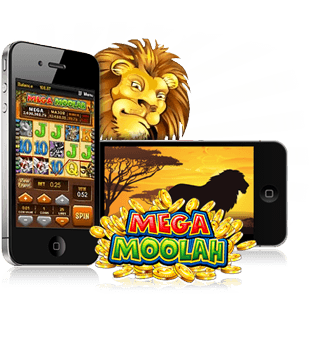 Mega Moolah offered by Microgaming