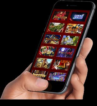 Kasínové hry na svojom mobilnom