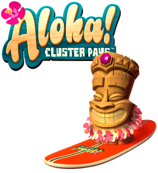 Aloha: Cluster Pays offered by NetEnt