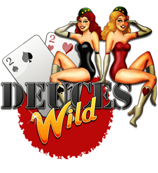 Deuces Wild Video Poker offered by NetEnt