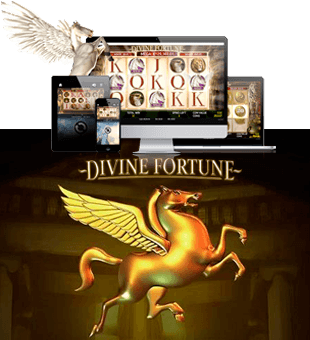 Divine Fortune offered by Net Entertainment