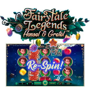 Fairytale Legends: Hansel & Gretel offered by NetEnt
