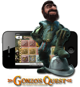 Gonzo's Quest Touch brought to you by NetEnt
