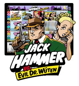 Jack Hammer erbjuds av Net Entertainment