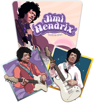 Jimi Hendrix brought to you by NetEnt