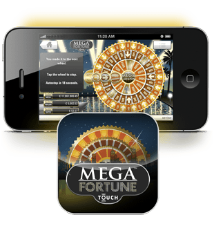 Mega Fortune offered by Net Entertainment