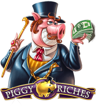 Piggy Riches kom með þér af Net Entertainment