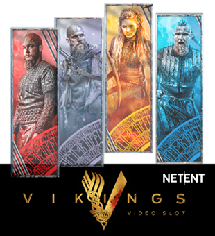 Vikings brought to you by NetEnt