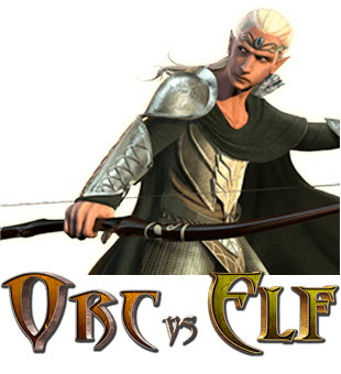 Orc vs Elf offered by Realtime Gaming