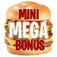 MiniMegaBonus: Innborgun $ 5 Spila með $ 505