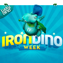 Get up to €250 a day during the IronDino week!