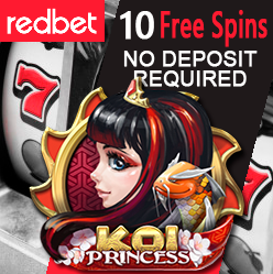 """News flash: Free Spins on """"Koi Princess"""" for both New and Existing Players!"""