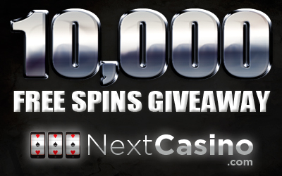 10000 Free Spins Giveaway at NextCasino