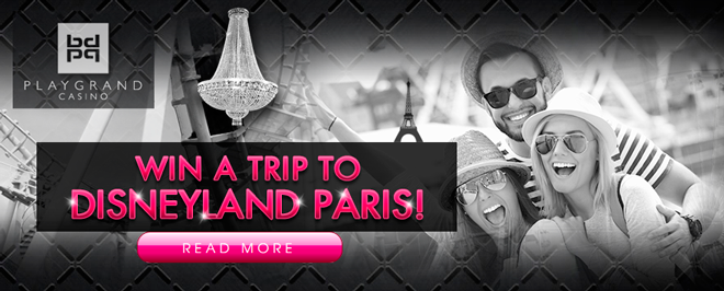 Win a trip for 2 to Disneyland Paris!