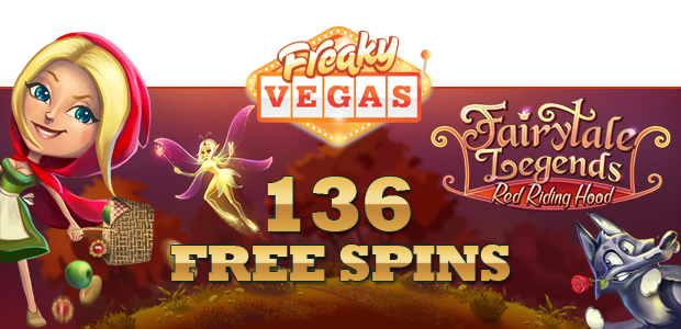"""Free spins on Netent's latest game release – """"Fairytale Legends: Red Riding Hood"""""""