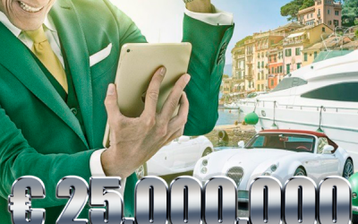 € 25,000,000 Sports Jackpotter på MrGreen