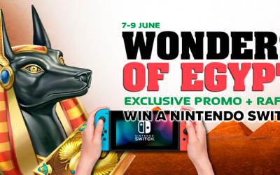 Θαύματα της Αιγύπτου promo: Κερδίστε ένα διακόπτη της Nintendo!